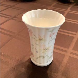 NEW Pastel Garden Bone China Fluted bud vase